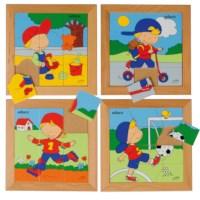 Puzzelserie Jongen | Educo