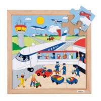 Verkeerspuzzel | Luchthaven | 16 stukjes | Educo