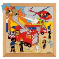 Actie puzzels | Brand | 25 stukjes | Educo