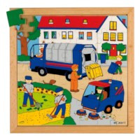 Actie puzzels | Afval | 49 stukjes | Educo