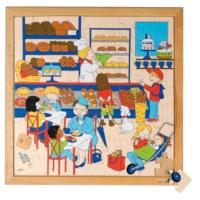Puzzelserie 81 | Bakker | Educo