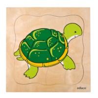Groeipuzzel Schildpad | Educo