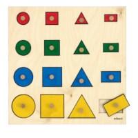 Geometrische vormenplank | Educo