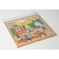 Schuifdeksels puzzels | 40 x 40 cm