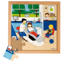 Puzzels | Gezondheid | Tandarts | Educo