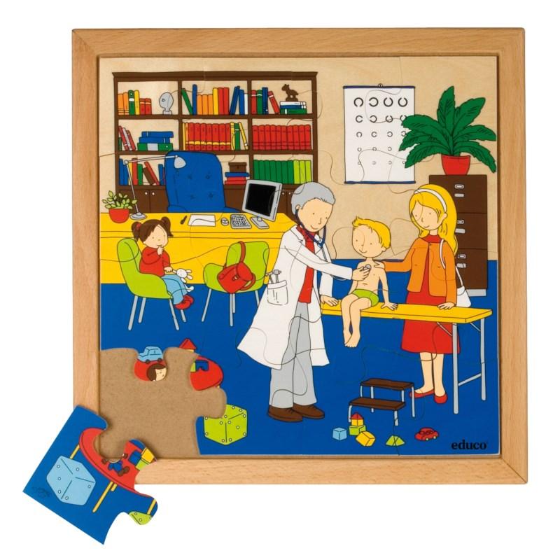 Puzzels | Gezondheid | Dokter | Educo