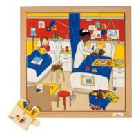 Puzzels | Gezondheid | Ziekenhuis | Educo