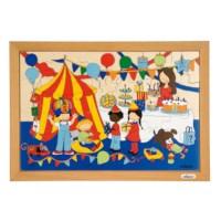 Puzzelserie Kinderen | Kinderfeest | Educo