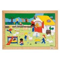 Puzzelserie Kinderen | Kinderboerderij | Educo