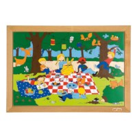 Puzzelserie Kinderen | Picknick | Educo