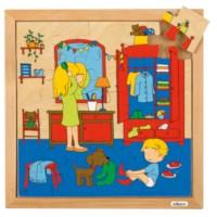 Hygiëne puzzels | Aankleden | 25 stukjes | Educo