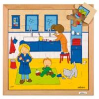 Hygiëne puzzels | Tanden poetsen | 25 stukjes | Educo