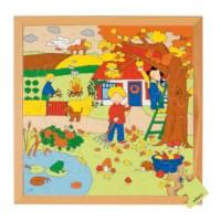 Seizoenenpuzzels 2 | Herfst | 49 stukjes | Educo