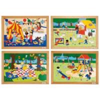 Puzzelserie Kinderen | Set à 4 | Educo