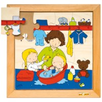 Babypuzzel | In bad | 12 stukjes | Educo
