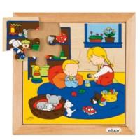 Babypuzzel | Spelen | 9 stukjes | Educo