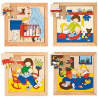Babypuzzels | Set à 4 | Educo