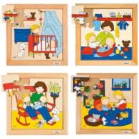 Babypuzzels | Set à 4 | Educo