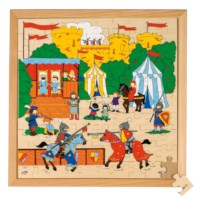 Puzzelserie 100   Ridders   Educo