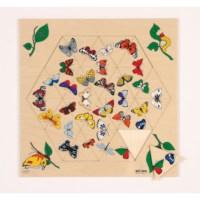 Triama puzzels | Vlinders | Educo