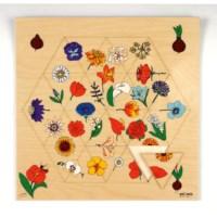 Triama puzzels | Bloemen | Educo