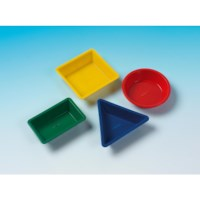 Acht geometrische zandvormen | Educo