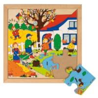 Seizoenenpuzzel 1 | Herfst | 9 stukjes | Educo