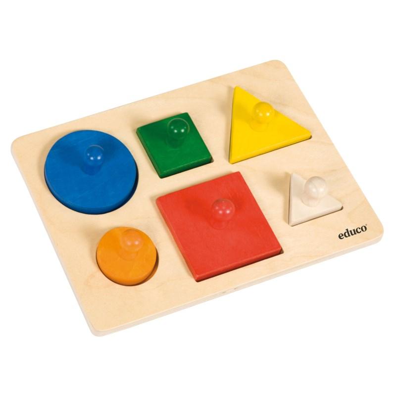 Vormen sorteer puzzel | Educo