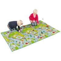 Speelmat | Boerderij en dierentuin | 120 x 200 cm | Educo