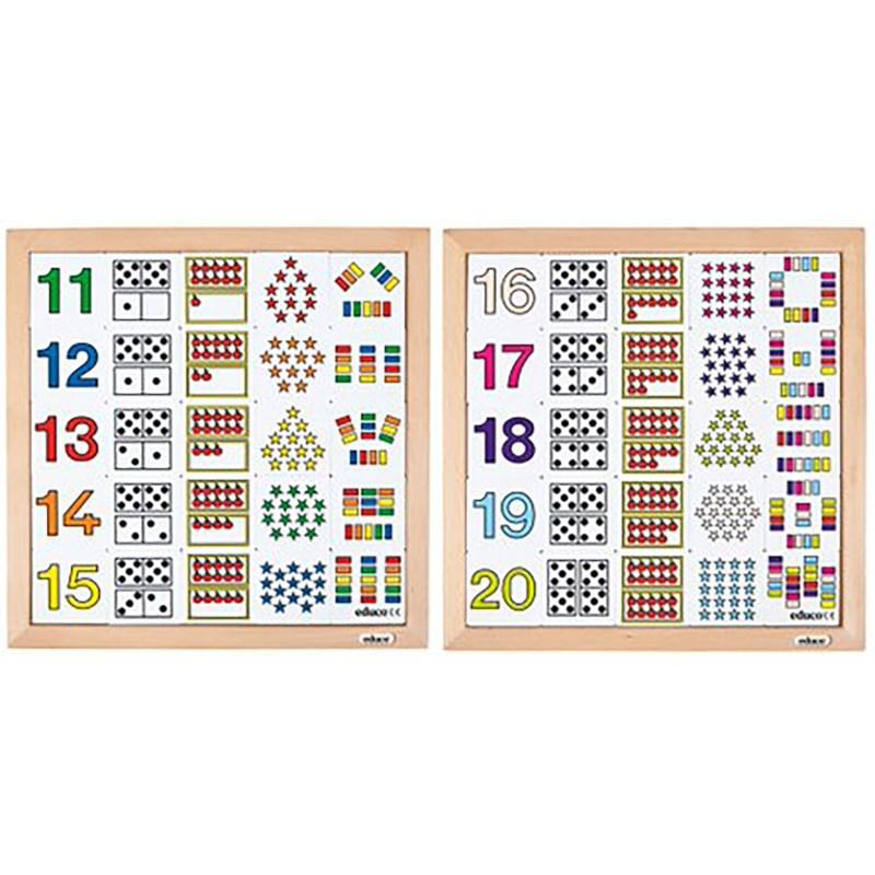 Tel-diagrammen 11 - 15 en 16 - 20 | Educo