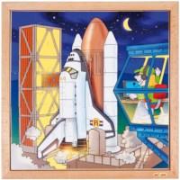 Puzzelserie ruimtevaart | Raket | Educo