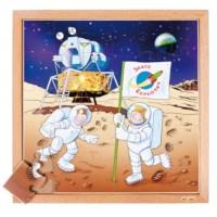 Puzzelserie ruimtevaart | Astronaut | Educo