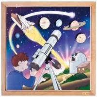 Puzzelserie ruimtevaart | Sterren en planeten | Educo