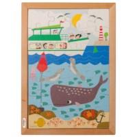 Puzzel in de zee | Educo