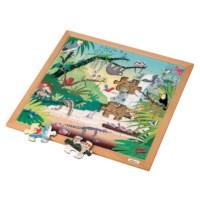 Woordenschatpuzzel tropisch bos| Educo
