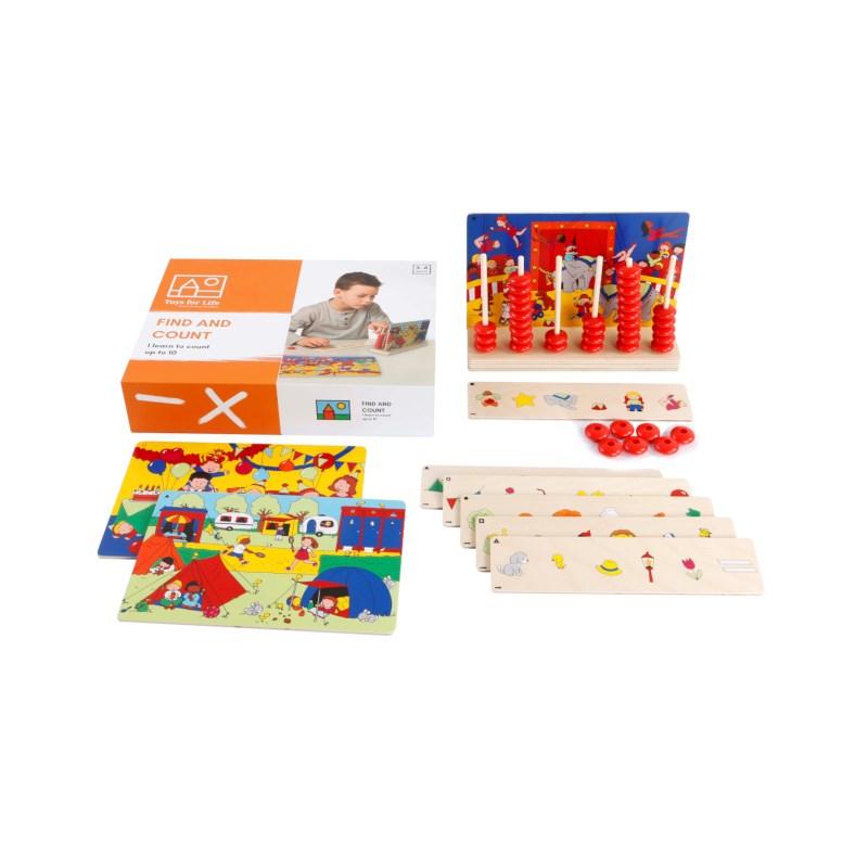 Toys for life | Zoek en tel