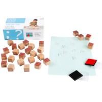 Toys for life | Stempel de letter