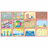 Kleimatten | Kleuteruniversiteit | Set van 12