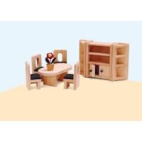 Poppenhuis meubilair | Eetkamer | Educo