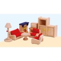 Poppenhuis meubilair | Woonkamer | Educo