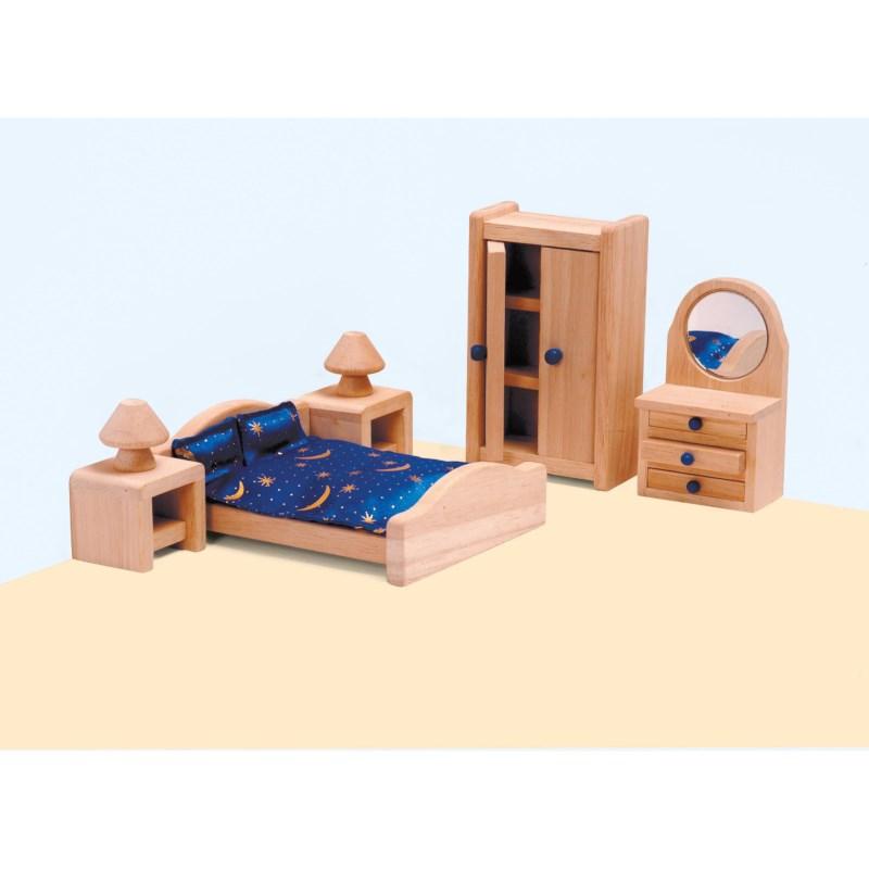 Poppenhuis meubilair | Slaapkamer | Educo