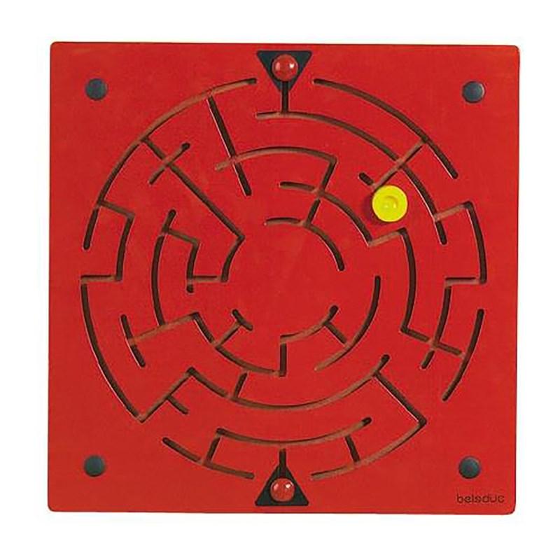Wandspeelborden   Labyrint