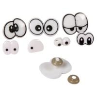 Grappige ogen | Assortiment 9 soorten | Inhoud 200 stuks