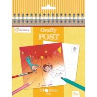 Ansichtkaarten | Kleurboek | Circus | 15,5 x 15 cm | 24 stuks