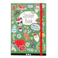 Stickerboek | Kerstmotieven | 11,5 x 17 cm | 1700 stickers