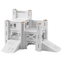 Bouwpakket karton | 112 Kazerne | Formaat 73 x 50 x 47 cm