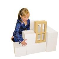 Bouwblokken Karton | Maten assorti | 45 delig