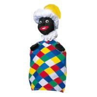 Poppenkastpop stof | Piet