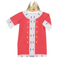 Verkleedkleding | Fantasie | Koning incl. kroon | Educo