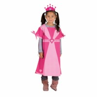 Verkleedkleding   Fantasie   Prinses incl. kroontje   Educo